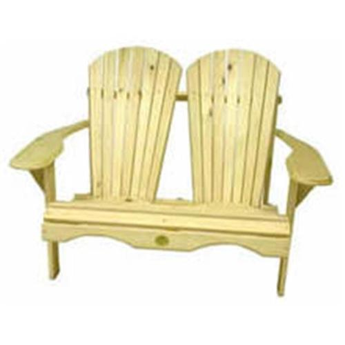 Rustic Natural Cedar Furniture Outdoor Loveseat