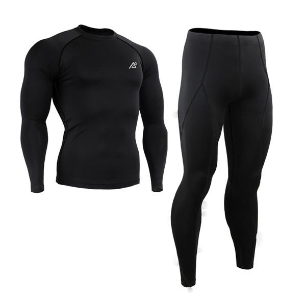 All-in-One Compression Base Layer T Shirt Men Tights by BlackBeltShop Inc.