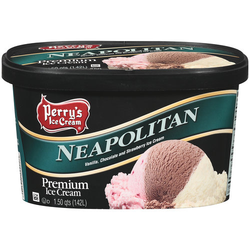 Perry's Ice Cream Neapolitan, 1.5 QT