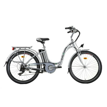 Cyclamatic GTE Step-Through Electric Bike with Lithium-Ion