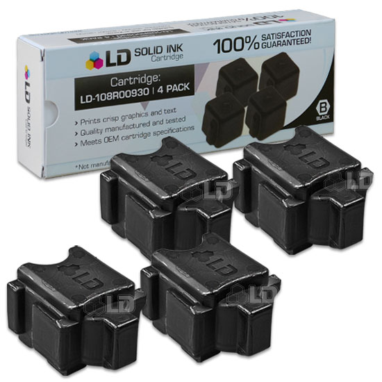 LD Compatible Replacements for Xerox 108R00930 Solid Ink Sticks for use in Xerox ColorQube 8570DN, 8570DT, and 8570N