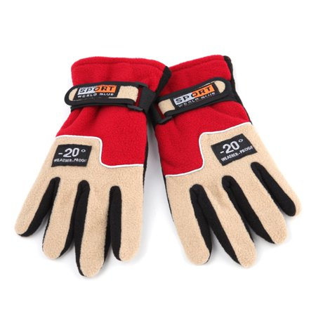 Warm Fleece Women Outdoor Gloves Autumn Winter Female Sports Gloves Breathable Hunting Cycling Full Finger Gloves - image 1 of 8