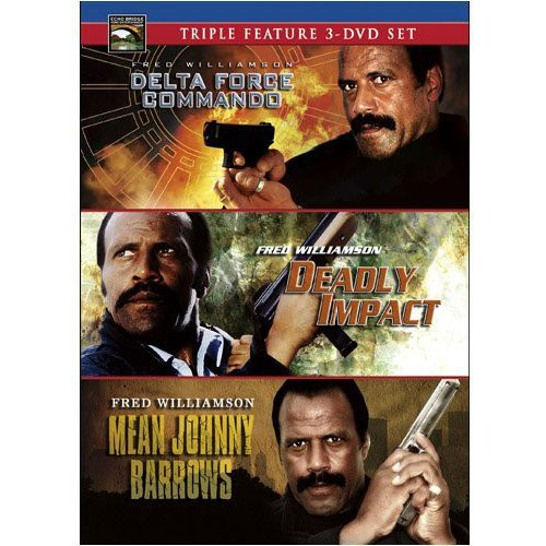Fred Williamson Triple Feature: Delta Force Commando / Deadly Impact / Mean Johnny Barrows
