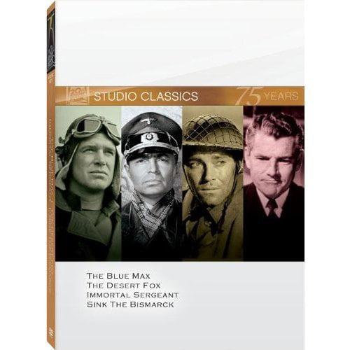 20th Century Fox Studio Classics (The Blue Max   The Desert Fox   Immortal Sergeant   Sink the Bismarck) by NEWS CORPORATION