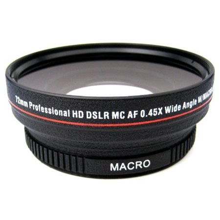 0.45x High Definition Super Wide Angle Lens w/ Macro + Exclusive 33 Street Camera Cleaning