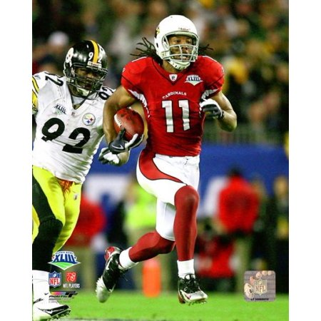wholesale dealer 12192 2b531 Larry Fitzgerald Super Bowl XLIII Action # 45 Photo Print
