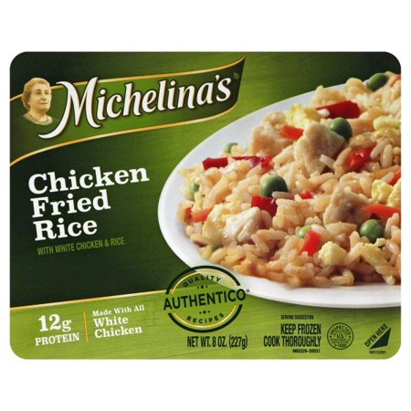 Michelina's Chicken Fried Rice 8 oz. Tray - Walmart.com