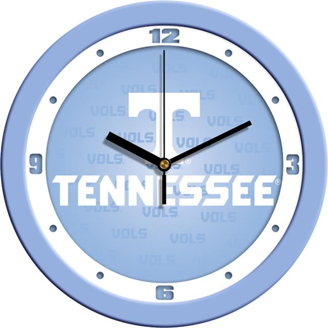 Suntime ST-CO3-TNV-BWCLOCK Tennessee Volunteers-Baby Blue Wall Clock
