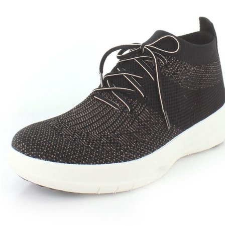 autumn shoes popular stores unique design FitFlop J30-501: Womens Uberknit Slip-On High-Top Sneaker (6.5 B(M) US)