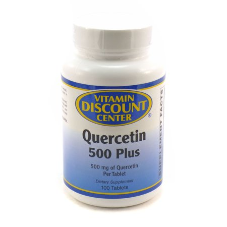 Quercetin 500 plus by vitamin discount center 100 for Vitamincenter b2b
