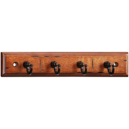 Chapter™ Antique Walnut with Bronze Finish Key Rack