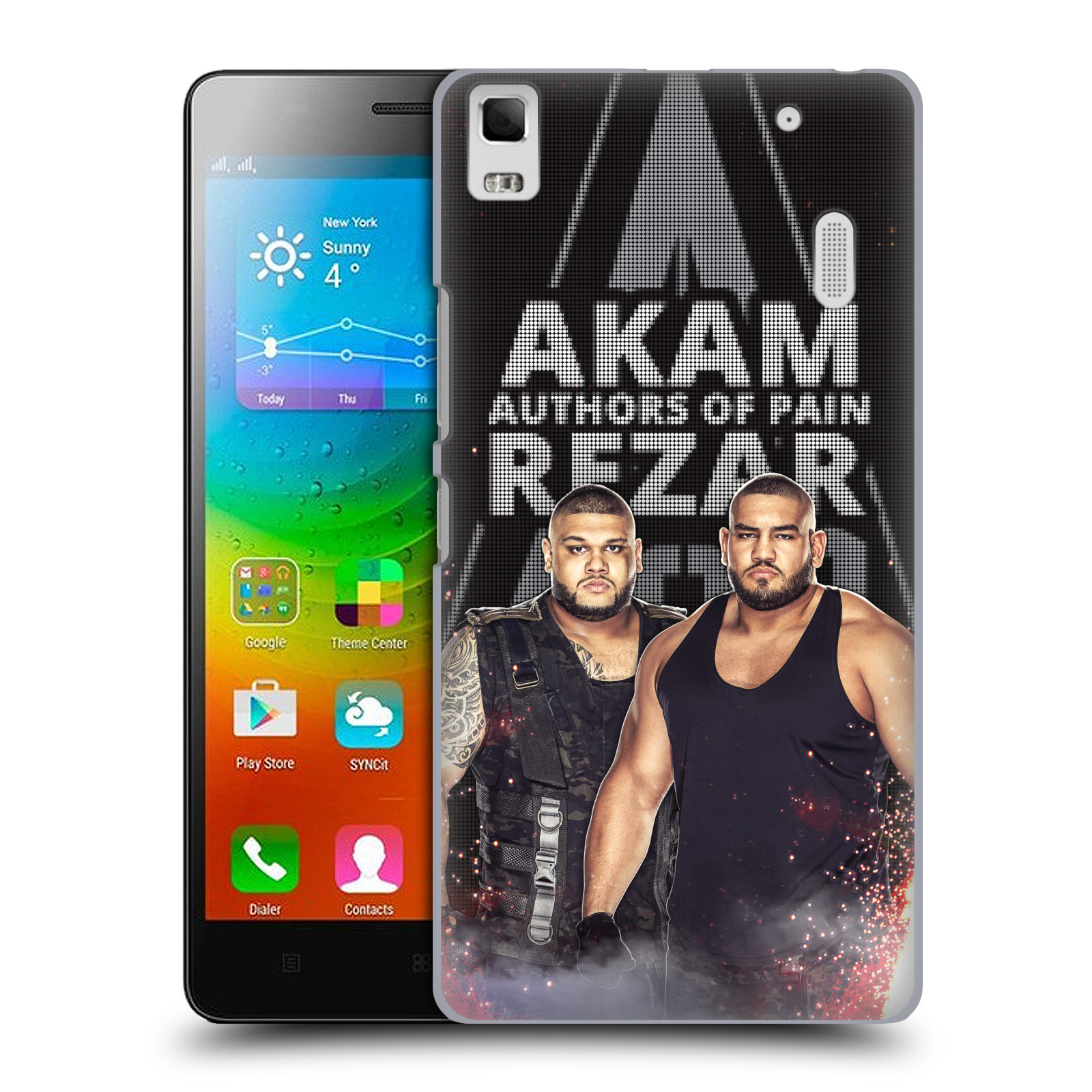OFFICIAL WWE AUTHORS OF PAIN HARD BACK CASE FOR LENOVO PHONES
