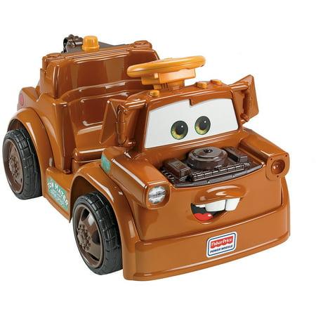 Power Wheels Disney Cars 2 Mater 6-Volt Battery-Powered Ride-On ...