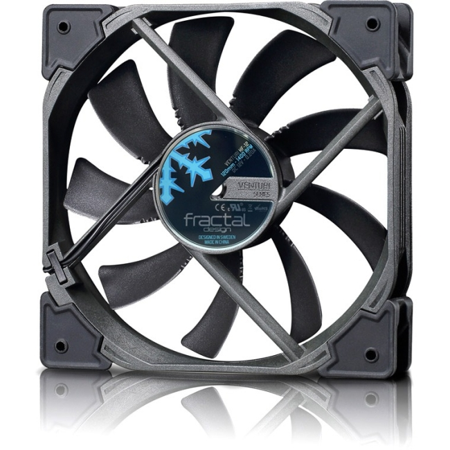 Fractal Design Venturi HF-12 Cooling Fan - 1 x 120 mm - 1400 rpm