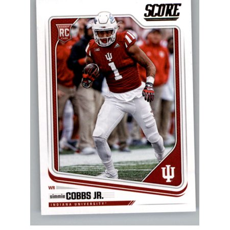 best service 75902 20b29 2018 Score #390 Simmie Cobbs Jr. Indiana Hoosiers Football Card