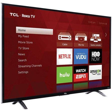 "TCL 50"" Class 4K (2160P) Roku Smart LED TV (50UP120) - REFURBISHED - image 1 of 3"