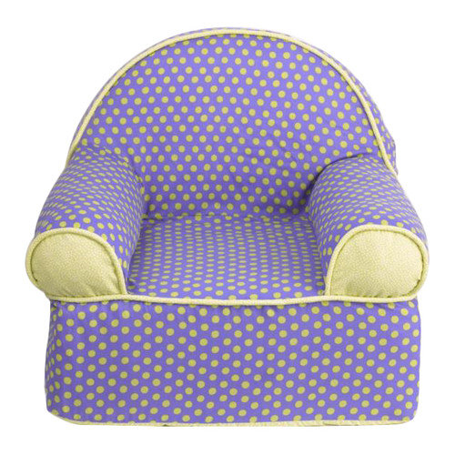 Cotton tale periwinkle kids foam club chair walmart com