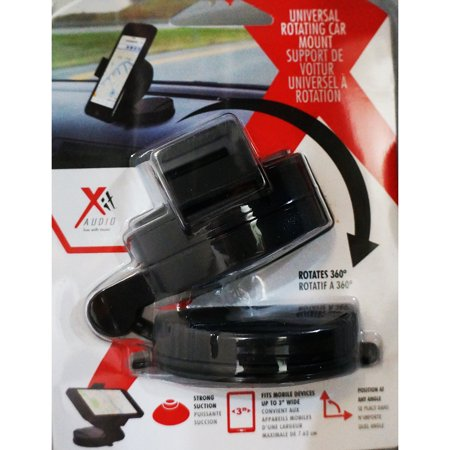 Xit Group Universal Rotating Car Dashboard Mount W  3   Pedestal Grip   Axtcm2