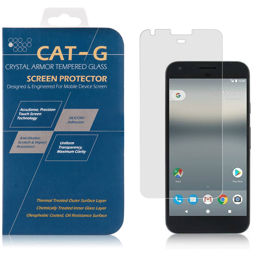 Tempered Glass Screen Protector Kit for Google Pixel Perfect Fit