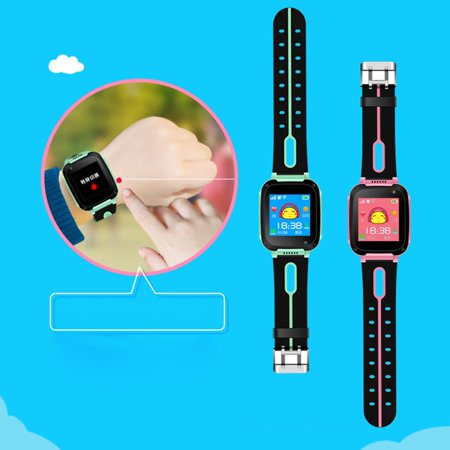 S4 LBS Positioning LED Flashlight Touch Screen Children Smart Watches Remote Control Photograghing Kids Wristwach - image 4 de 9