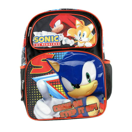 - Backpack - Sonic the Hedgedog - Step It Up Black New 191898