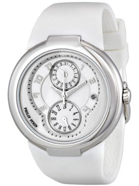 8c834432b Product Image Philip Stein 31-AW-RW Active White Rubber Strap Silver-tone  Ladies Watch