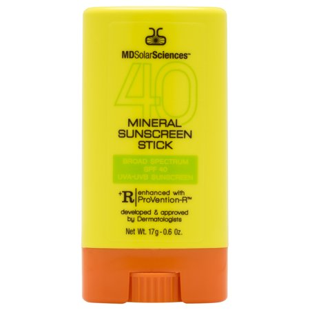 MDSolarSciences Mineral Sunscreen Stick SPF 40 0.6 oz