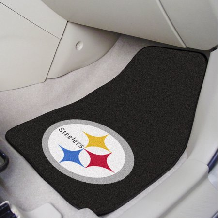 - Pittsburgh Steelers 2-pc Carpeted Car Mats 17