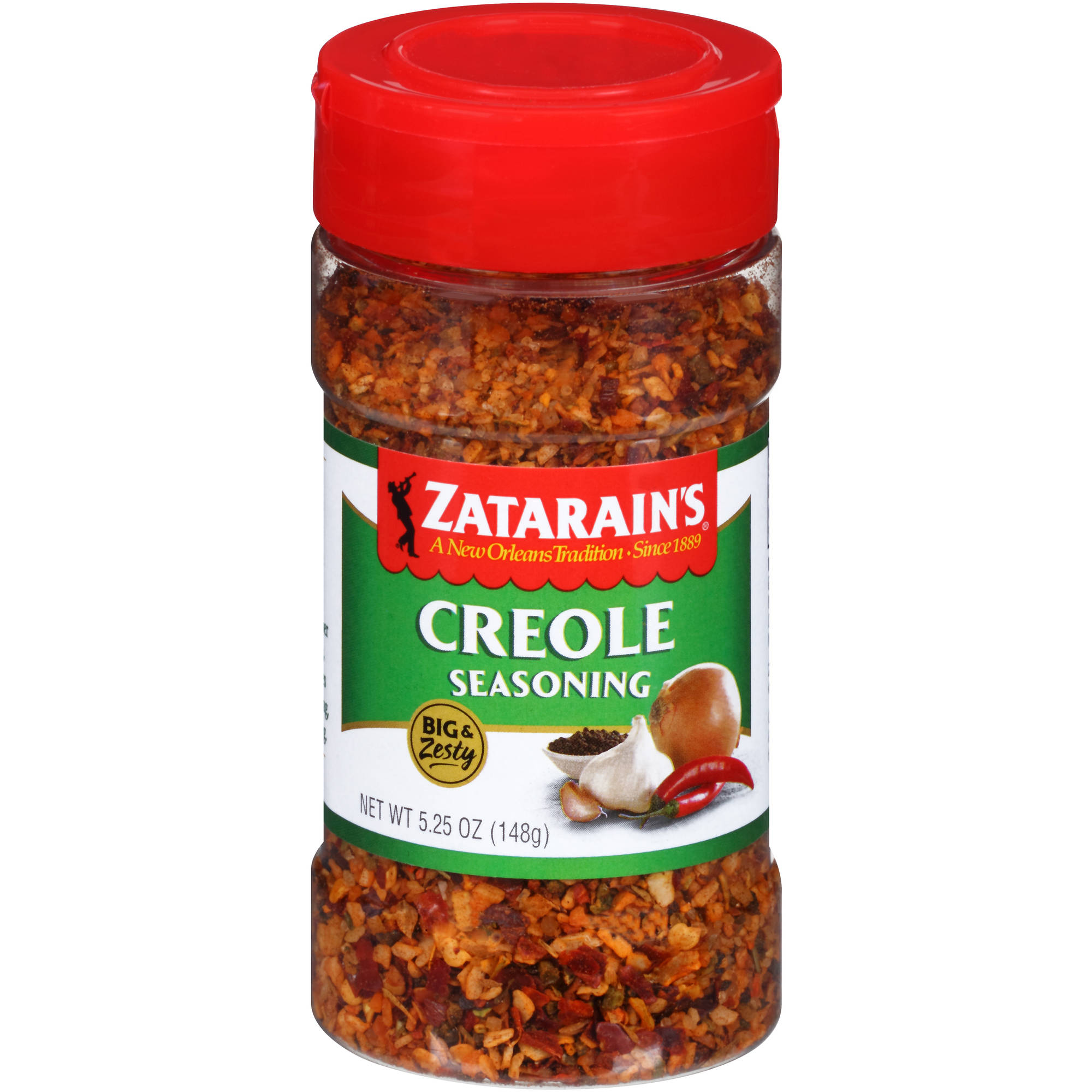 Zatarain's Original Big & Zesty Creole Seasoning, 5.25 oz
