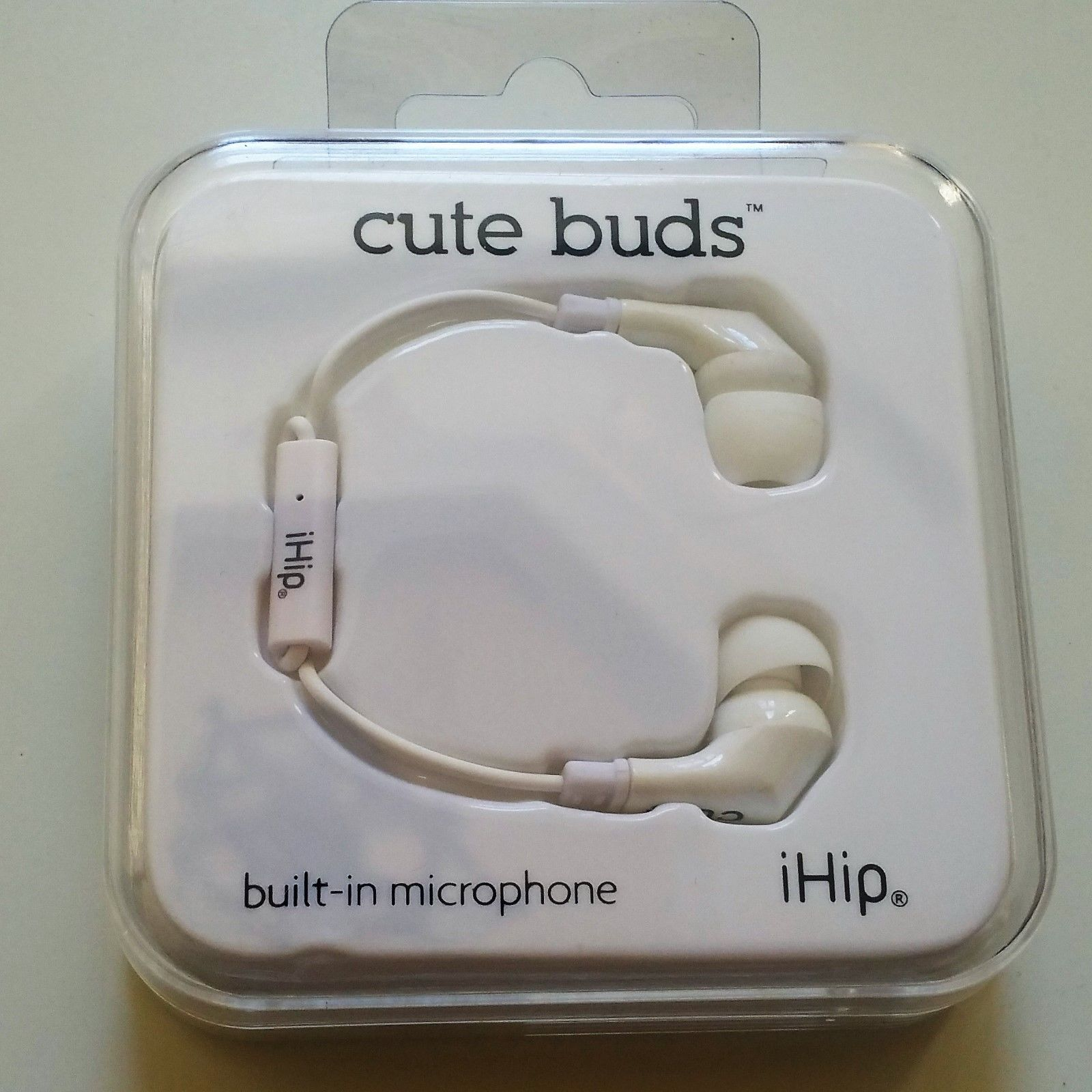 iHip Cute Buds Earbuds w/ Built-in Microphone / Pause Play