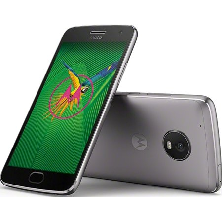 Motorola Moto G5 Plus 32gb Unlocked Smartphone Iron Gray Walmart