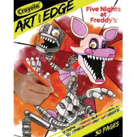Crayola Art W/Edge Coloring Book-Five Nights At Freddy's