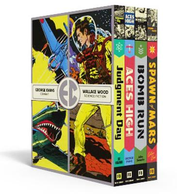 The EC Artists Library Slipcase 3 (Volumes 9-12) (Hardcover)