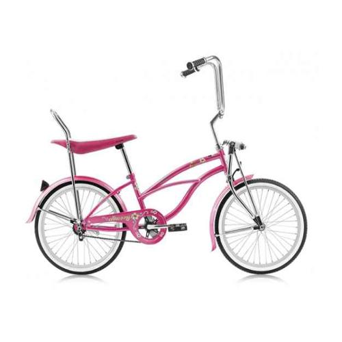 Hero 20 in. Beach Cruiser Bicycle in Pink