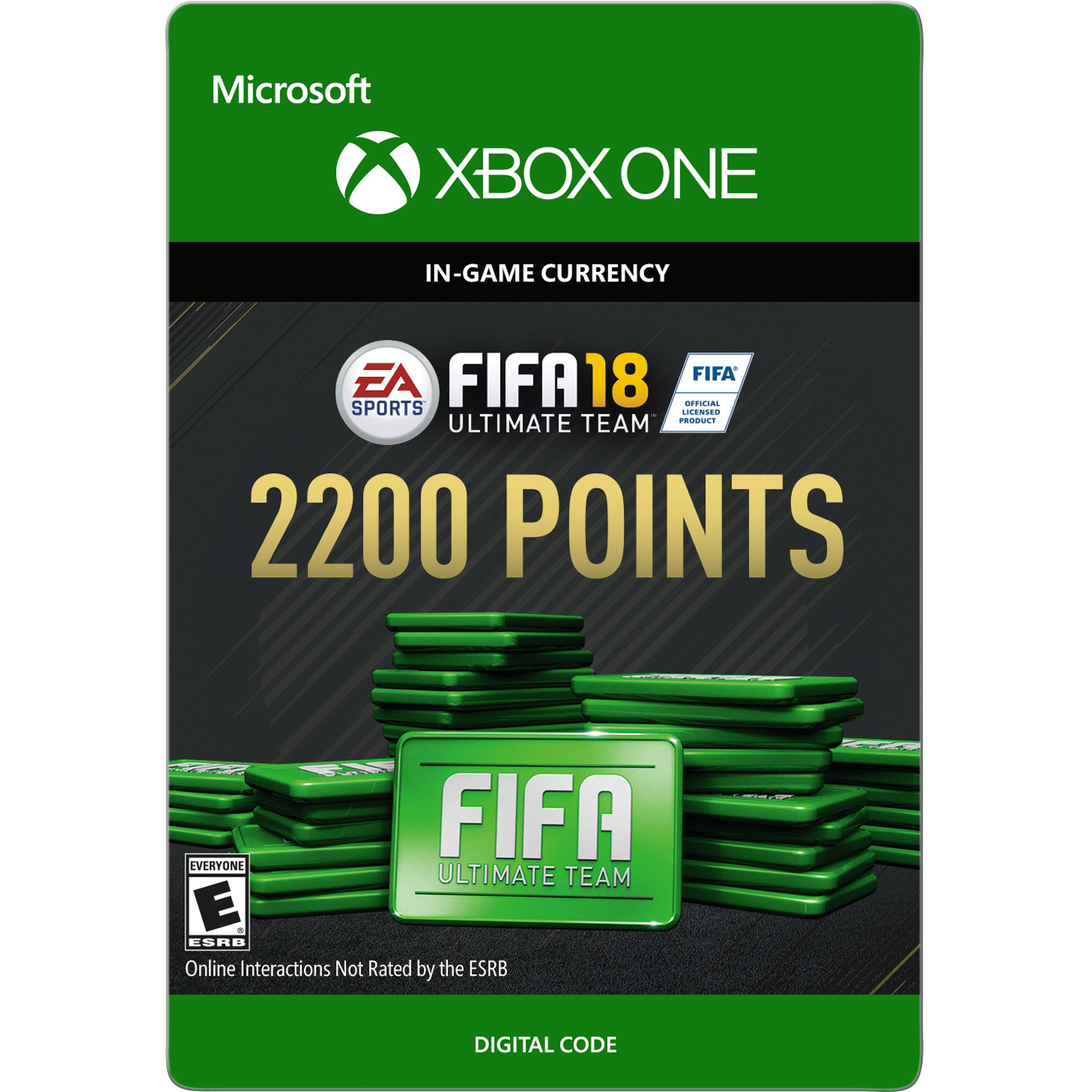 Xbox One FIFA 18 Ultimate Team 2200 Points (email delivery)