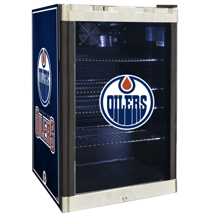 NHL Refrigerated Beverage Center 4.6 cu ft- Edmonton Oilers by
