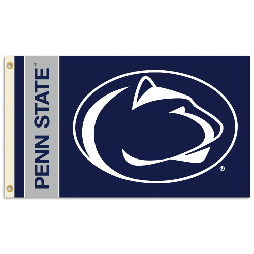 Bsi Products Inc Penn State Nittany Lions 2-Sided Flag with Grommets Flag with Grommets