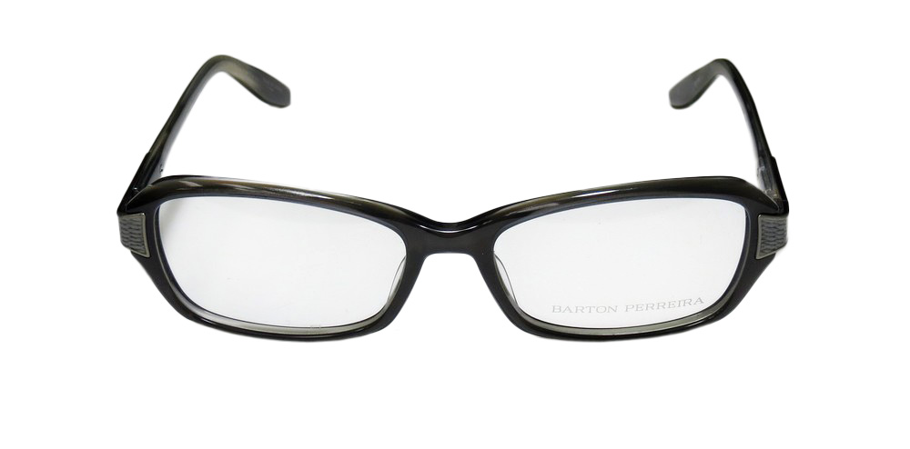 a1660997a1a New Barton Perreira Devereaux Womens Ladies Designer Full-Rim Gray Pearl    Skin Pattern Frame Demo Lenses 53-17-135 Eyeglasses Eyeglass Frame -  Walmart.com