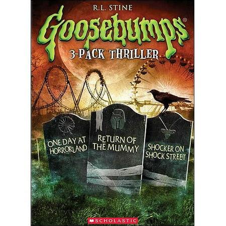 Goosebumps: One Day At Horrorland / Return Of The Mummy / Shocker On Shock Street (Full Frame) - Goosebumps Stay Out Of The Basement Movie