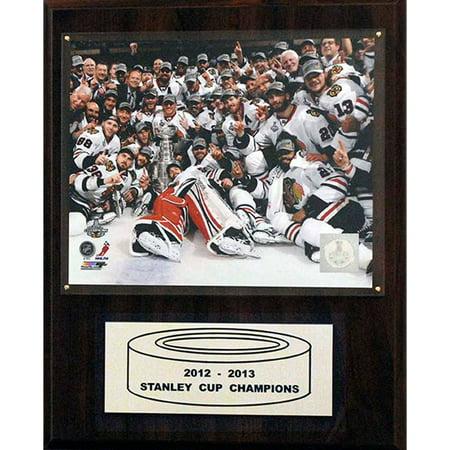 - C&I Collectables NHL 12x15 Chicago Blackhawks 2012-2013 Stanley Cup Celebration Plaque