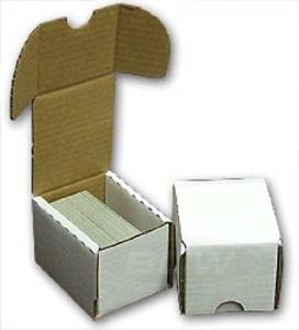 50 BCW Storage Boxes (100 Count) Corrugated Cardboard Sto...