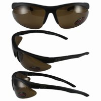 94d256c721 Product Image BlueWater Polarized Islander 2 Sunglasses Black Frames Brown  Lenses by Global Vision