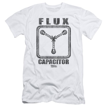 Back To The Future - Flux Capacitor - Slim Fit Short Sleeve Shirt - Large