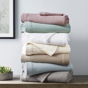 Madison Park Egyptian Cotton Solid Bed Blanket, Multiple Sizes and Colors