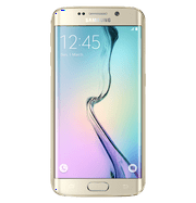 Samsung Galaxy S6 Edge G925T T-Mobile 5.1'' AMOLED Display 3GB RAM 32GB Internal 16MP Camera Phone - Gold Platinum