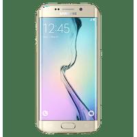 Samsung Galaxy S6 Edge G925T T-Mobile 5.1'' AMOLED Display 3GB RAM 32GB Internal 16MP Camera Phone - Gold Platinum