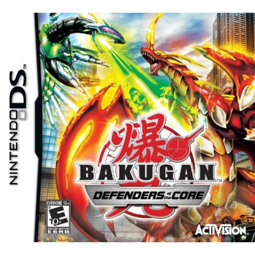 Bakugan Battle Brawlers: Defenders of the Core - Nintendo DS