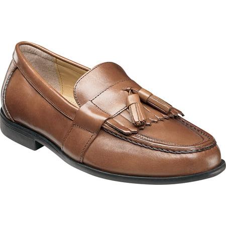 Men's Nunn Bush Keaton 84198 Moc Toe Kiltie Tasseled Slip (Breland Kiltie Tassel)