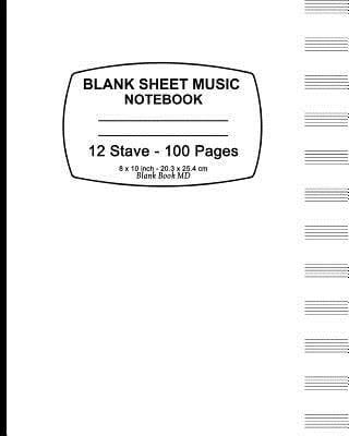 empty sheet music paper