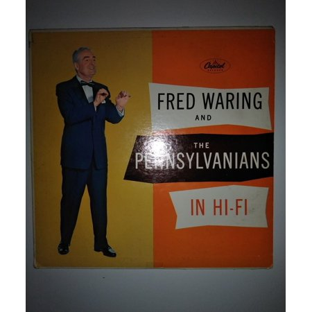 Fred Waring And The Pennsylvanians In Hi-Fi 45 record Part 1 EAP 1-845 - Custom 45 Records